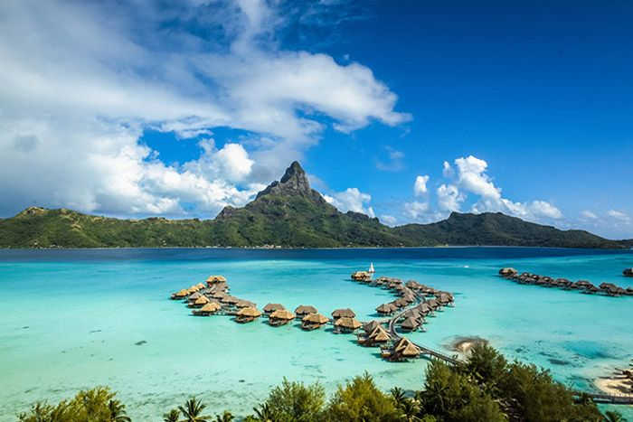 InterContinental Bora Bora Thalasso Spa main exterior
